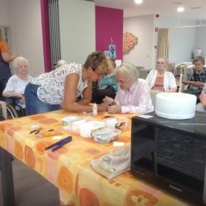 foto workshop bejaardenhuis